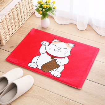 Harga Cute cartoon mat bedroom door mat bathroom doormat bathroom door absorbent mats bath mat
