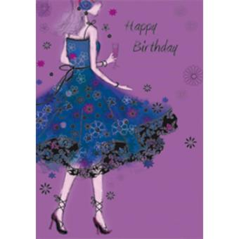 Harga Happy Birthday Card With Beautiful Message For Her