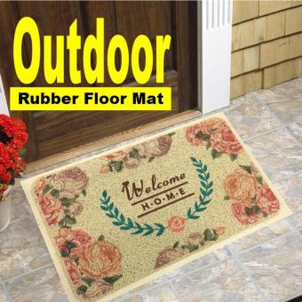 Harga Outdoor waterproof rubber floor door mat