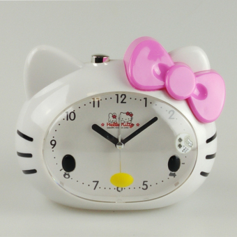 Harga Voice talking cute cartoon children students creative personality bedroom bedside mute luminous small alarm clock lazy