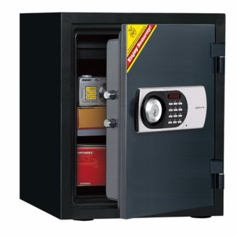 Harga Diplomat Safe 125E Electronic Fire Safe(Black)