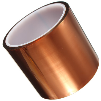 Harga Kapton Tape High Temperature Heat Resistant Polyimide Gold 260-300℃ 80mm x 30m(Export)(Intl)