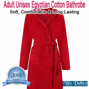Harga Nile Valley's Hotel Unisex Egyptian Cotton Bathrobe for Adult (Single)