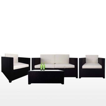 Harga Arena Living Fiesta Sofa Set II White Cushions