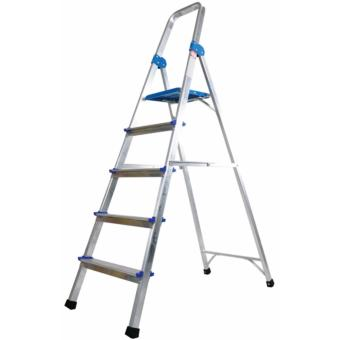 Harga Winsir Aluminium Household 5 Steps Ladder
