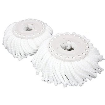 Harga PRO 360 Rotating Spin Magic Mop - Dual Drying Version Replacement Mop Heads (Pro 360 Clean)- 1 Pack (...) (...)-intl