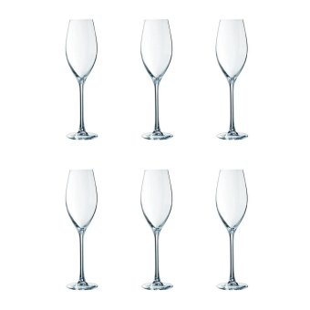 Harga Chef and Sommelier GRANDS CEPAGES Flute Wine Glass 24cl, 6pcs