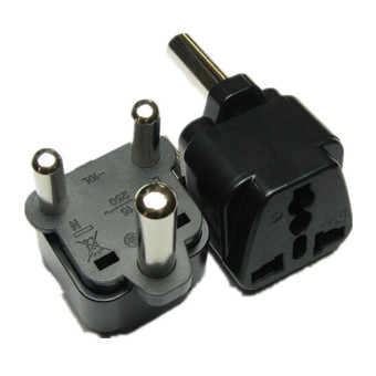 Harga Universal UK/US/EU/AU/RU to Authentic South Africa Travel AC Power Plug Adapter(Export)