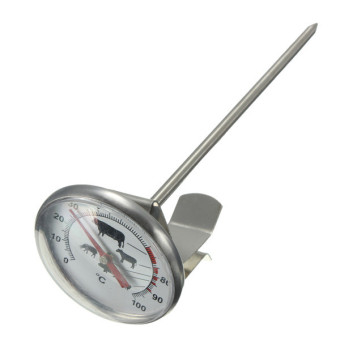 Harga Pocket Probe Thermometer Gauge For BBQ Meat Food (Stainless Steel)