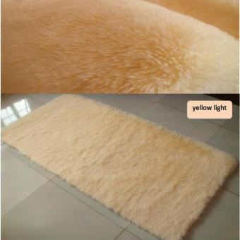 Harga 60* 90cm 4.5cm Thick Anti-slip Large Floor Carpets For Living Room Modern Area Rug For Bedroom Shaggy Rug - Intl