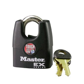 Harga Master Lock 1DEX 1-3/4in (44mm) Wide Laminated Steel Pin Tumbler Padlock with Shrouded Shackle