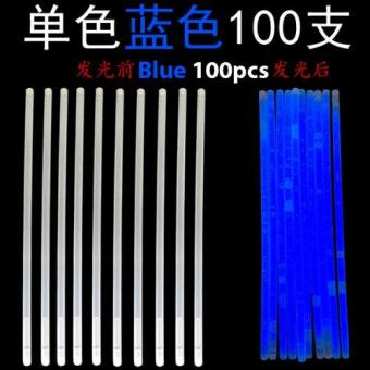 Glow Light Stick - Blue 100pcs