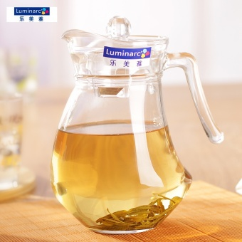 Harga Luminarc glass kettle cool cold water pot tea flower teapot large capacity 1.3L D3443