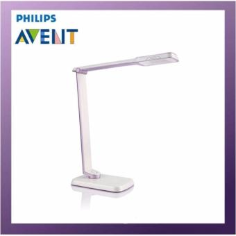 Harga Philips Spade Plus Table Lamp LED Purple 1 x 6 W