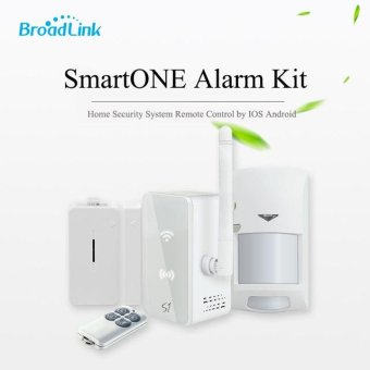 Original Broadlink S1C Smartone Kit Home Automation Security Alarm System with Remote(White)