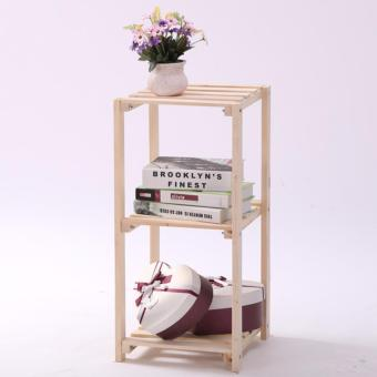 Harga Wooden Display Shelf
