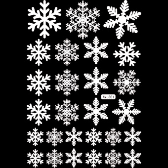 Who Sells Christmas Snowman Snowflake Decoration Decal Window - Window stickers for home singapore