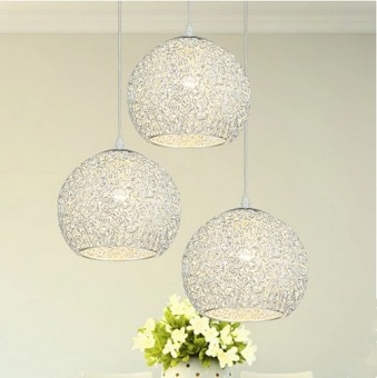 Harga LED Pendant Light Three Heads (Warm Light) With E27 Light Blub Creative Ceiling Fixtures D86-YC1012
