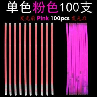 Harga Glow Light Stick - Pink 100pcs