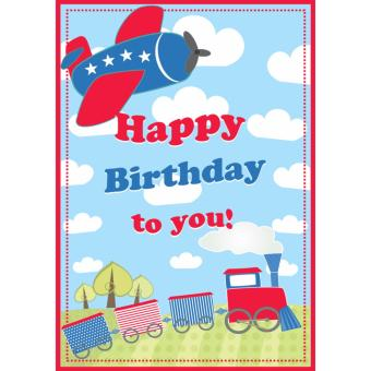 Harga Happy Birthday To You Card