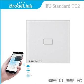 Broadlink TC2-1 Gang AC 170V-240V Smart Home Remote Wireless Light Controller Wifi Control EU Plug - intl