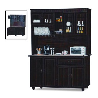 Harga Nova 3011-WN Dining Cabinet (FREE DELIVERY) (FREE ASSEMBLY)