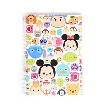 Harga Disney Tsum Tsum Wire-O Notebook Tsum Tsum World(Multicolor Not Specified)