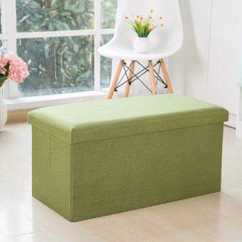 Harga Simple fabric bench can be folding toy box small sofa
