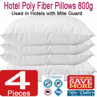 Harga Nile Valley Budget Hotel Poly Fiber Pillow With Mite Guard