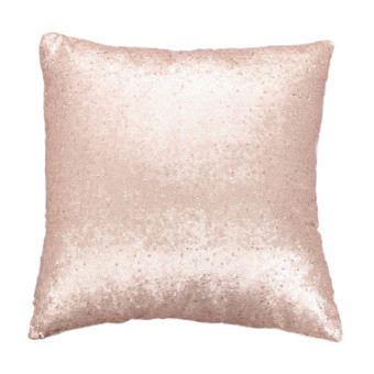 Harga Glitter Sequins Pillow Case Champagne
