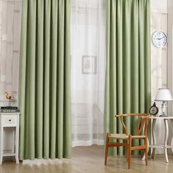 Harga Blackout Thermal Solid Window Curtain Green
