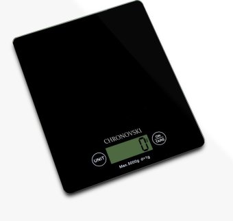 Harga Chronovski Kitchen Weighing Scale - Black