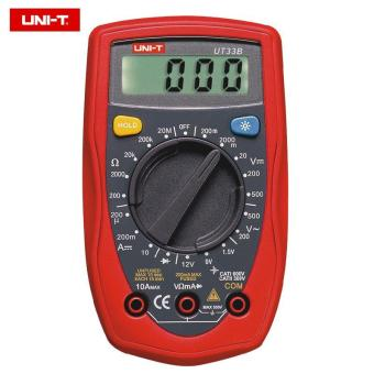 Harga UNI-T UT33B Digital LCD Multimeter Palm DC/AC Ohm Current Resistance Tester - intl