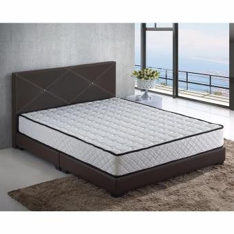 Harga Nova S8 5 ft Bed Frame with 5 ft Spring Mattress (Queen)