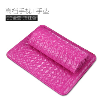 Harga Kasi rectangle nail art hand pillow with table mat