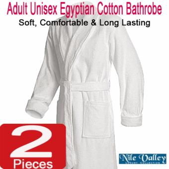 Harga Nile Valley's Hotel Unisex Egyptian Cotton Bathrobe for Adult