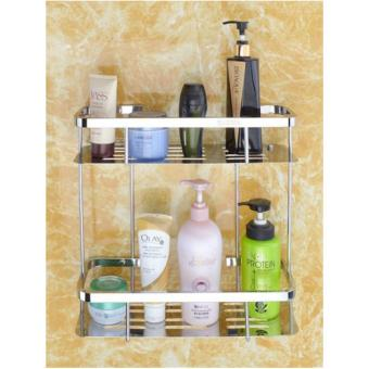 Harga VITA S008 Double Retangle Shelf (Matt)