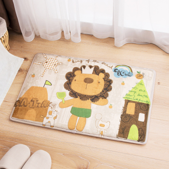 Harga Cartoon bedroom floor mats doormat door mat absorbent bath mat toilet bathroom door mats