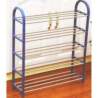 Harga 5 Tier Shoe Rack Storage