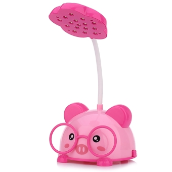 Harga CHAO SHENG CS116 Portable Cute Pig Eye-protection 2 Modes 5W LED Desk Lamp Night Light - intl