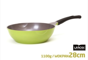 Harga Cheftopf Korean 5 Layers Ceramic Coating Stir-Frying Wok 28 cm - intl