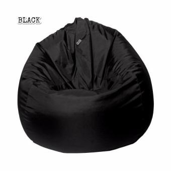 Harga Medium plop Jet Black by doob bean bags