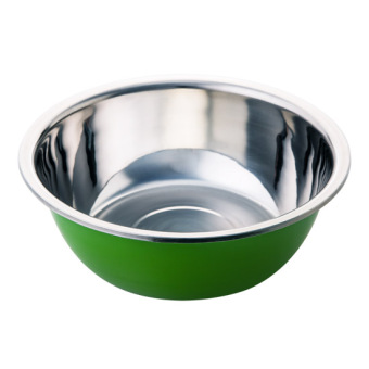 Harga Home home stainless steel large Beat egg pots thick seasoning pots kitchen soup pots oil basin and basin Wash rice wash Dish Basin