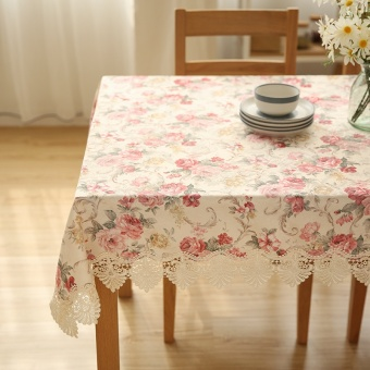 Harga Wishing tree European American fabric tablecloth lace table tablecloth cover towel coffee table living room retro tablecloth