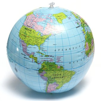 "Harga ""MEGA Inflate Inflatable Earth Tellurion World Globe Map Pool Beach"