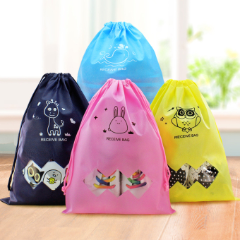 Harga Creative drawstring travel pouch underwear clothing clothes storage bag sorting bags travel waterproof travel bag