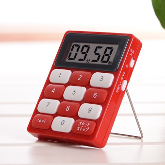 Japan LEC kitchen timer to remind the creative timing is stopwatch electronic are down time is cute alarm clock