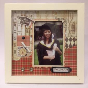 Harga Scrapbook Style 3-D Shadow Box Photo Frame