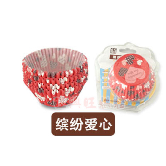 Harga Hi baking muffin cups cake tray made of food grade puff cake and oil temperature can into the oven