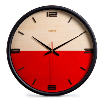 Harga Nordic creative minimalist table clock modern living room wall clock mute wall clock personalized clock library